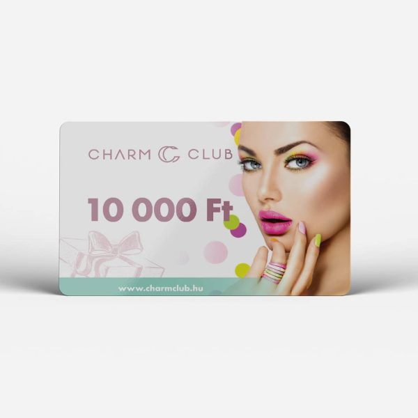 10.000 Ft értékű CharmClub ajándékkártya