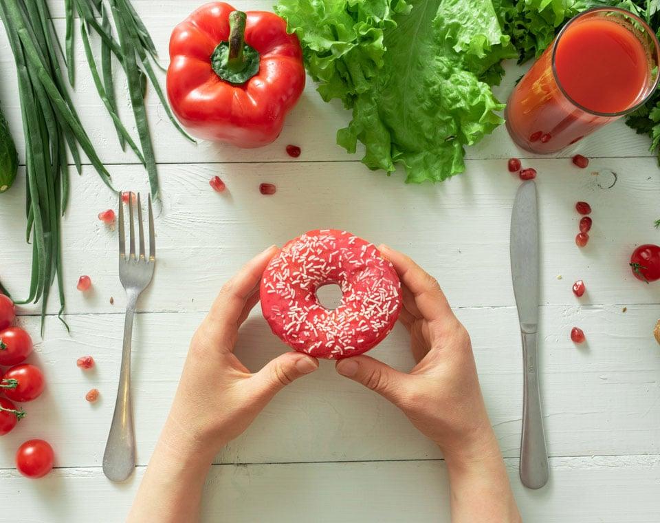 dilemma édesség, étel pszihológia